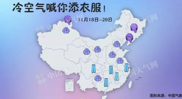 """3℃+大风!红黑大战大发气温将迎""""大跳水""""!""""入冬模式""""马上开启!"""